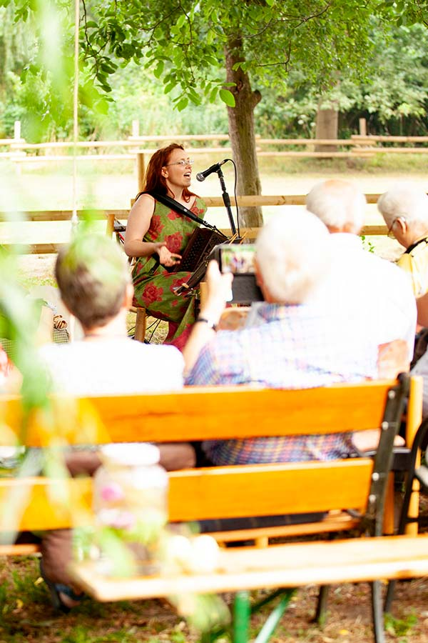 Konzert im Baumraum